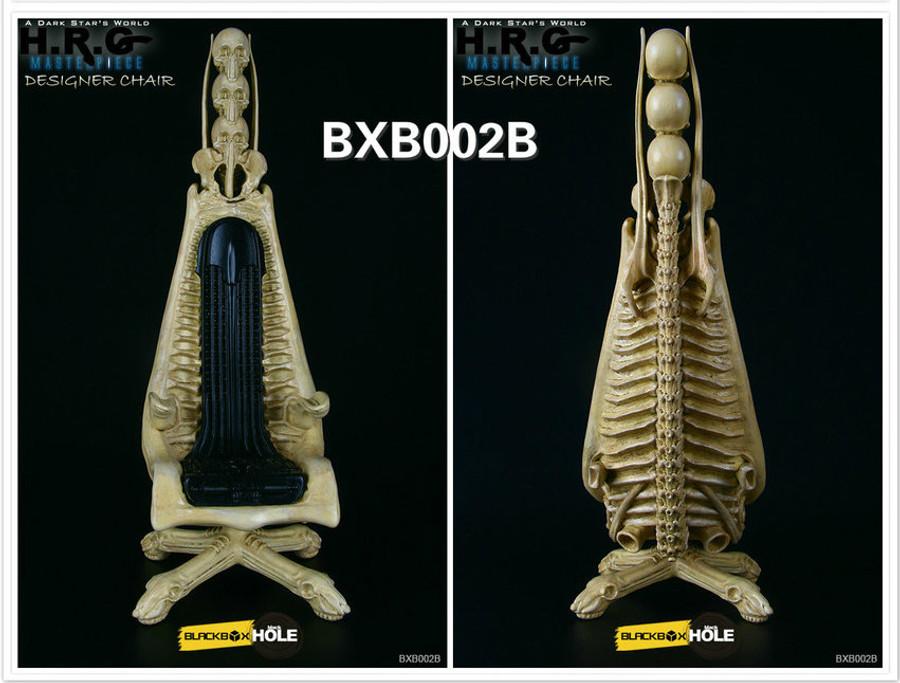Blackbox X Blackhole - Dark Star's World H.R.G. Masterpiece - Designer Chair Skeleton