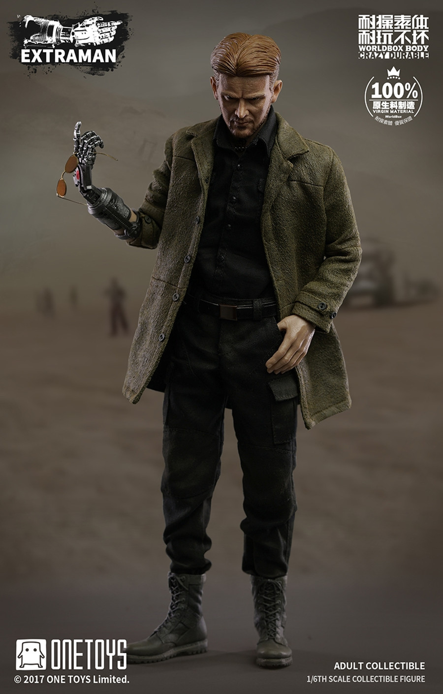 One Toys x Worldbox - Hound Dog Man