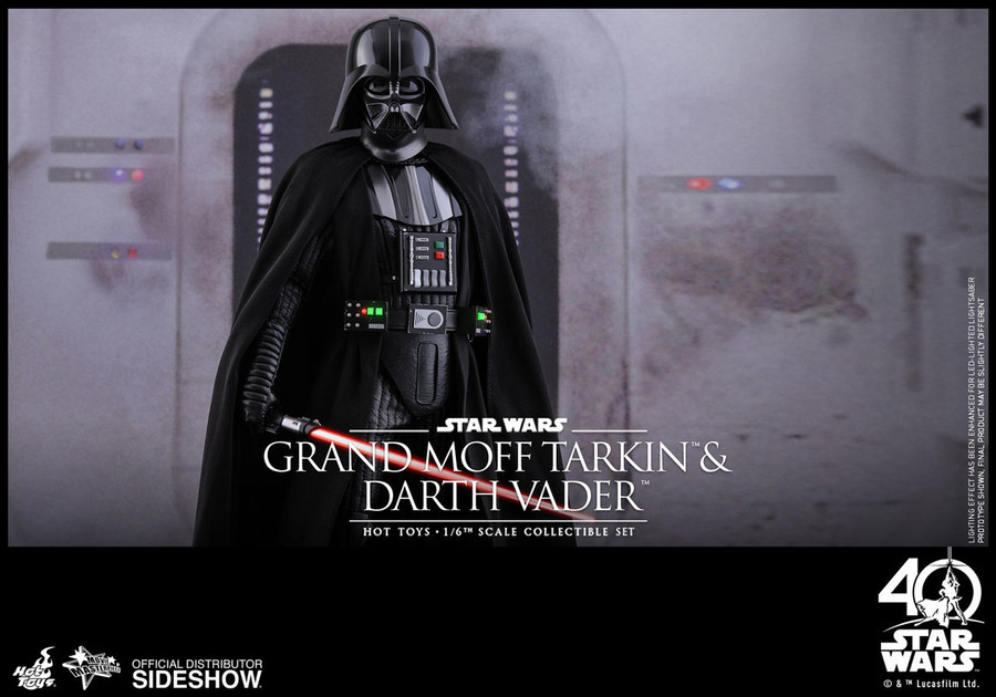 Hot Toys - Star Wars: A New Hope - Grand Moff Tarkin and Darth Vader