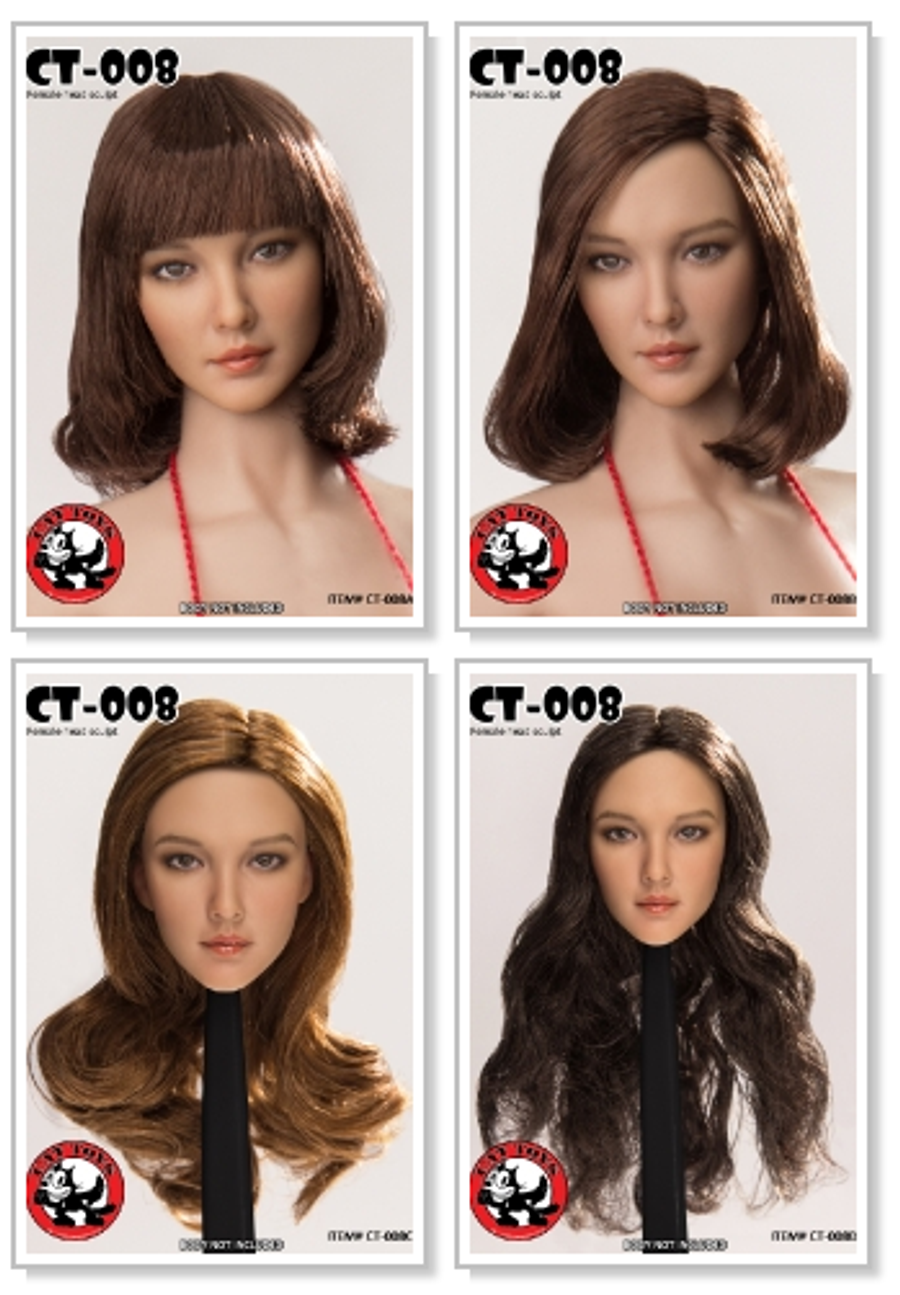 Cat Toys - Female Character Heads