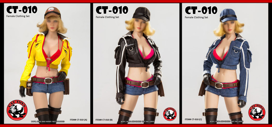 Cat Toys - Female Clothing Set