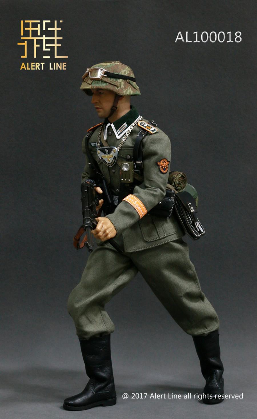 Alert Line - WWII German Grossdeutschland Division(GD) Armband Equipment Set