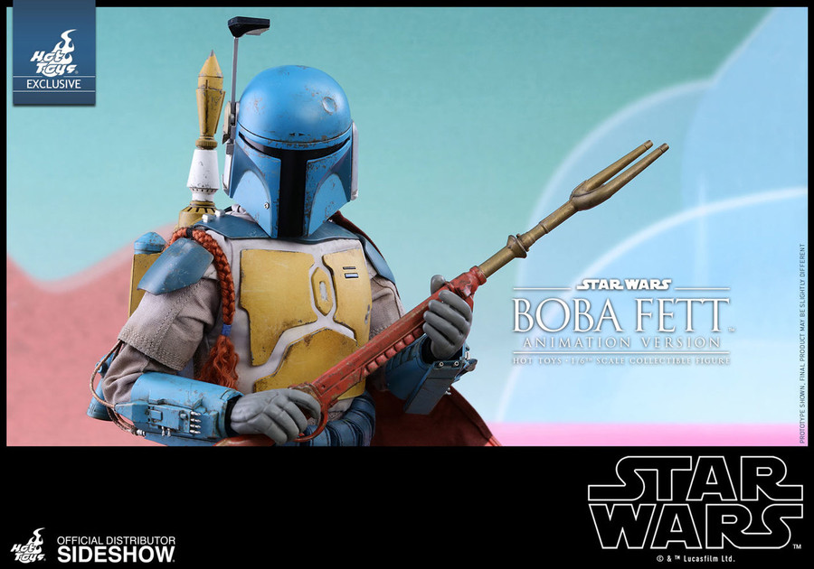 Hot Toys - Star Wars: Boba Fett Animation Version - Sideshow Exclusive