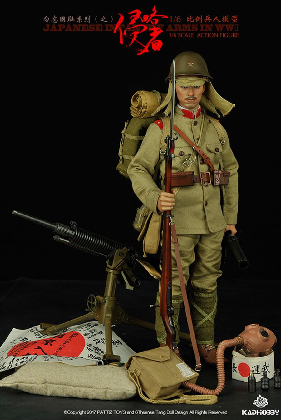 KADHOBBY - WWII Japanese Infantry Army
