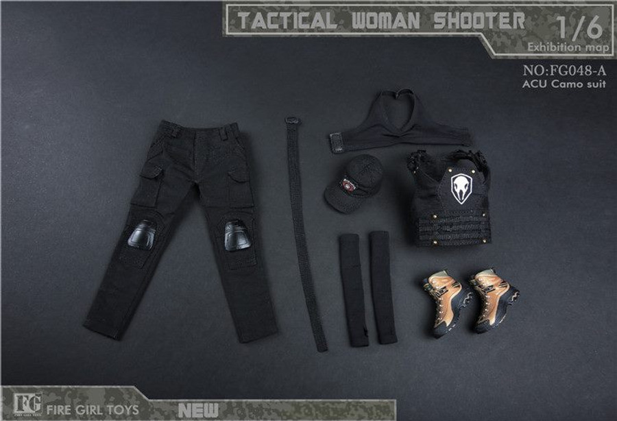 Fire Girl Toys - Tactical Female Shooter