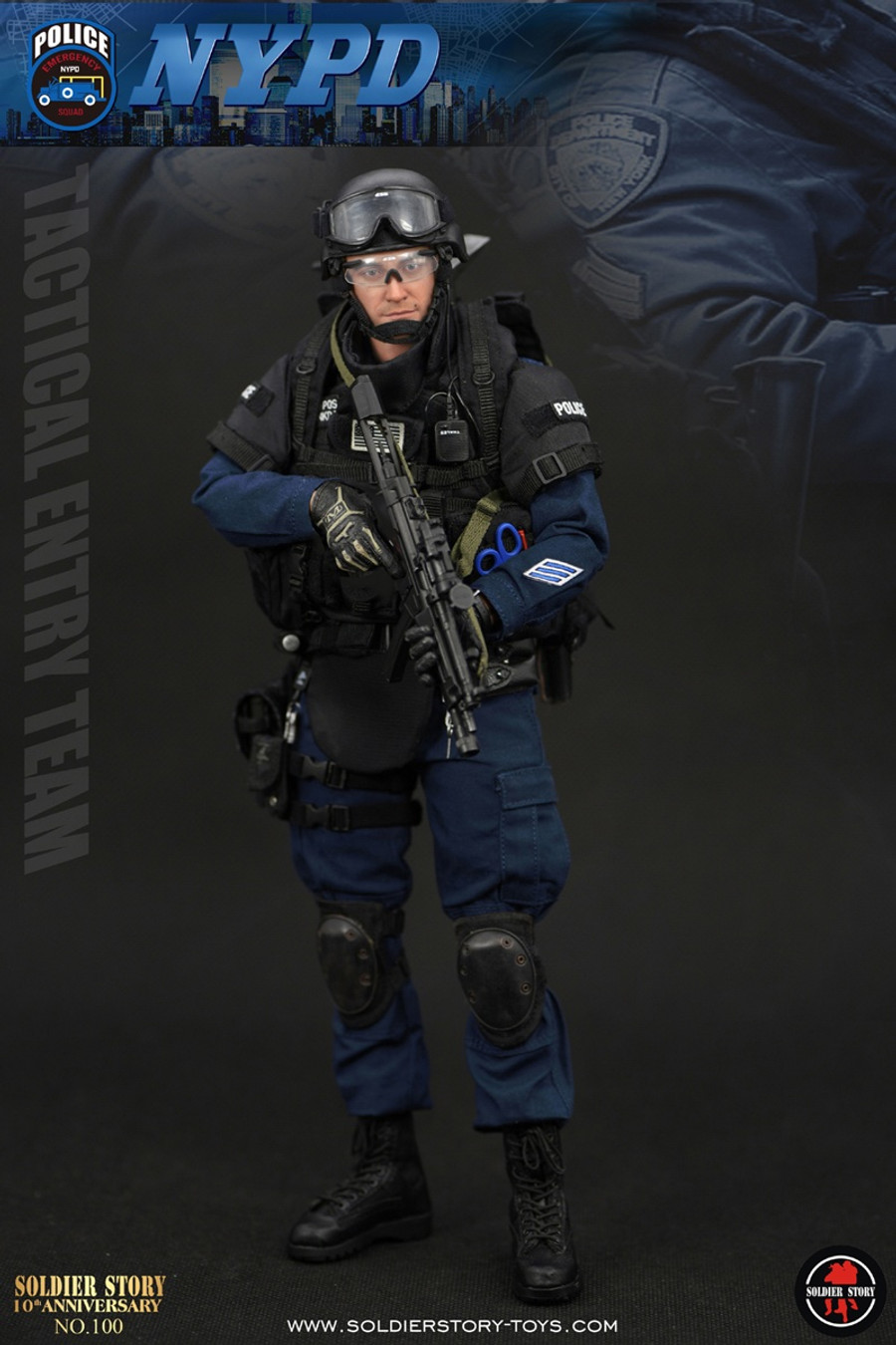"Soldier Story - NYPD ESU ""Tactical Entry Team"""