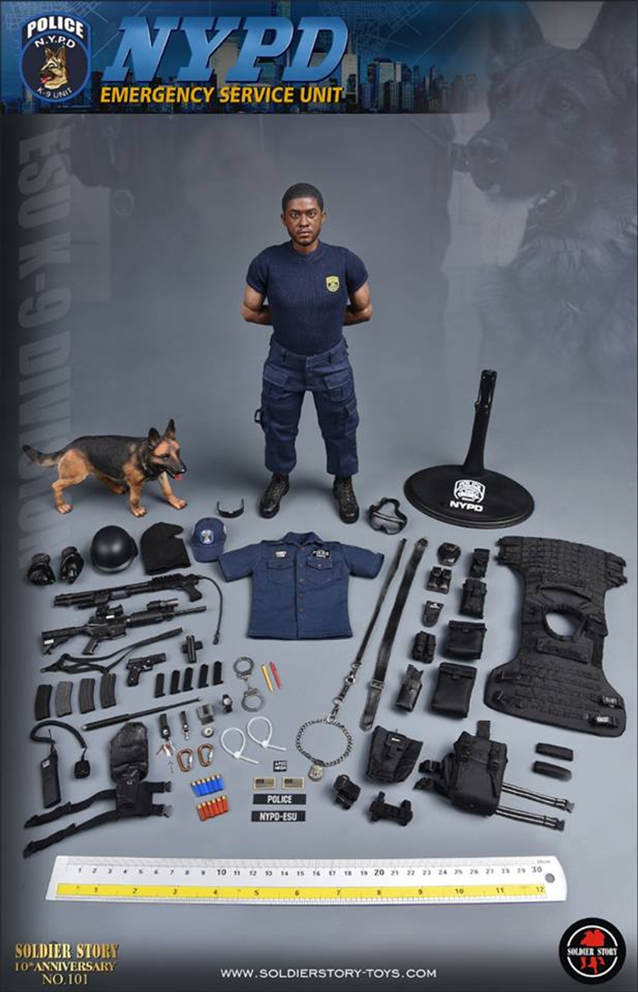 "Soldier Story - NYPD ESU ""K-9 DIVISION"""