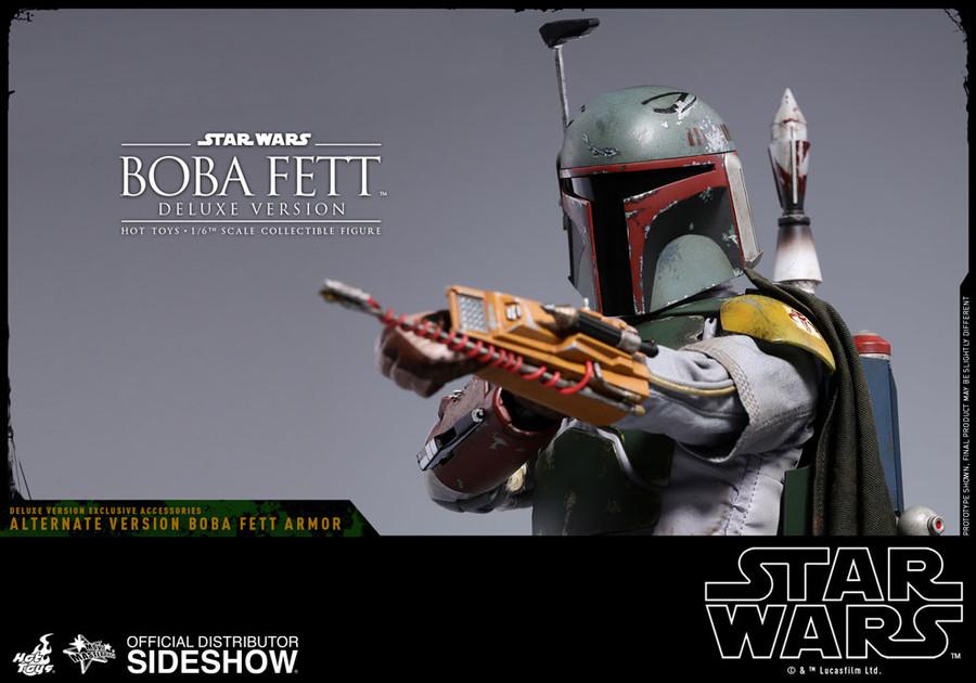Hot Toys - Star Wars: The Empire Strikes Back - Boba Fett Deluxe Version