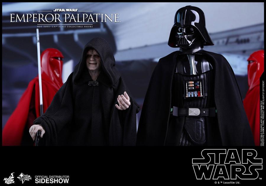 Hot Toys - Episode VI Return of the Jedi - Emperor Palpatine