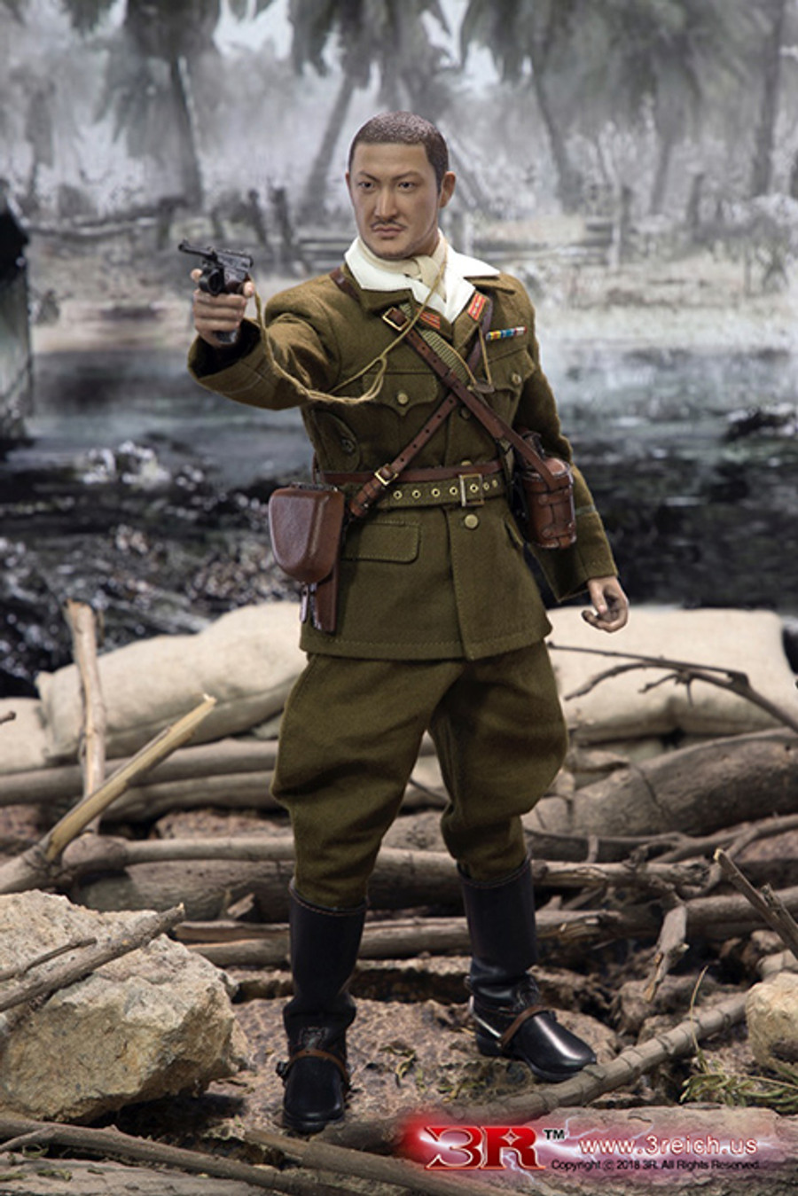 DID - IJA 32nd Army 24th Division - First Lieutenant Sachio Eto