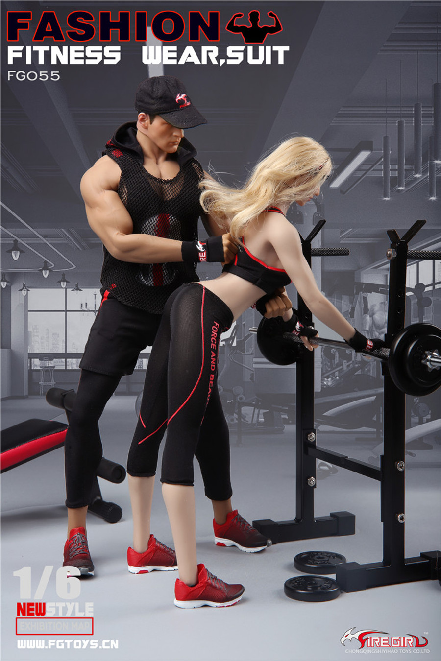 Fire Girl Toys - Fashion Fitness Wear