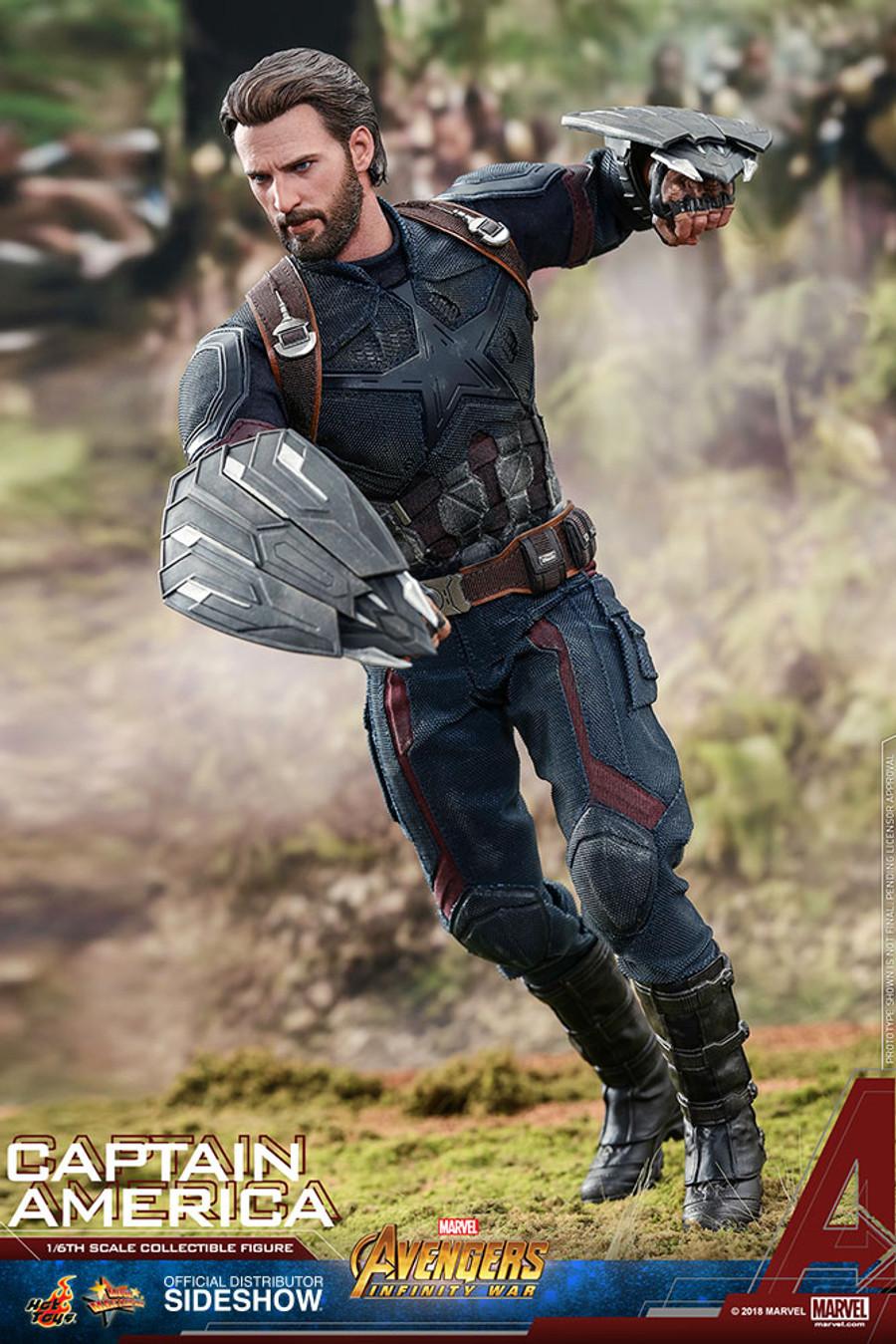 Hot Toys - Avengers: Infinity War - Captain America