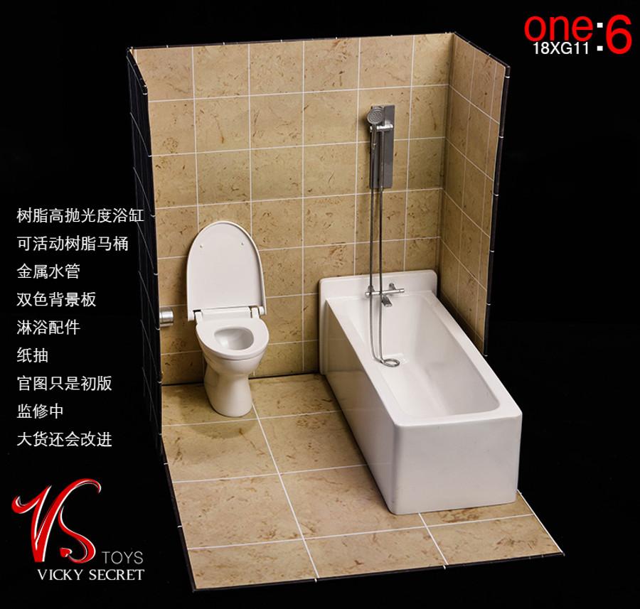 VS Toys - Bathroom Theme Display