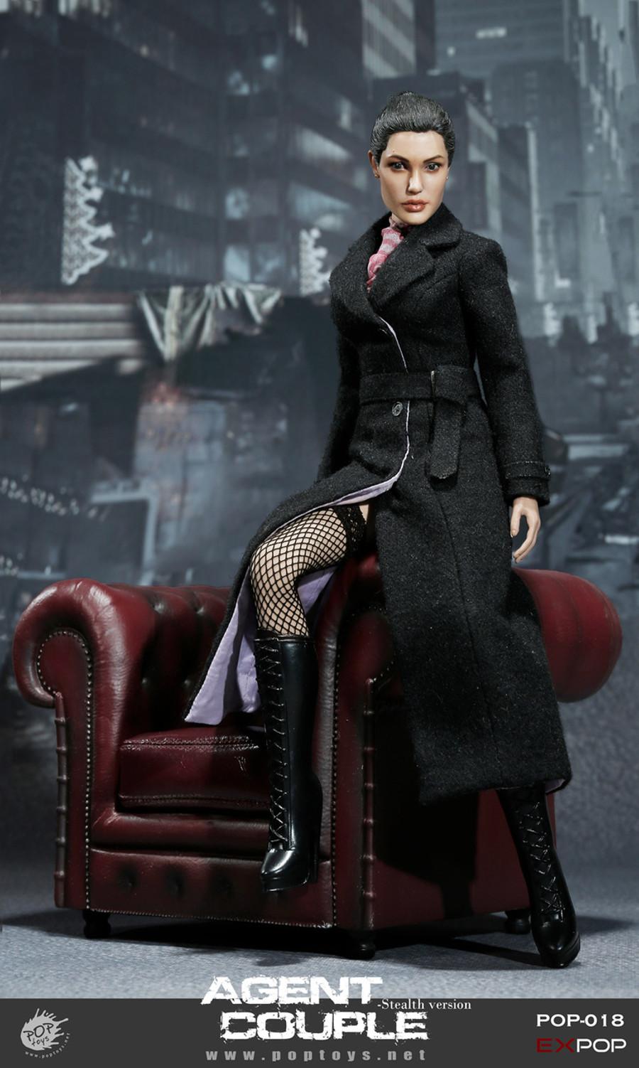 Pop Toys - Mrs. Smith Action Figure SM Version