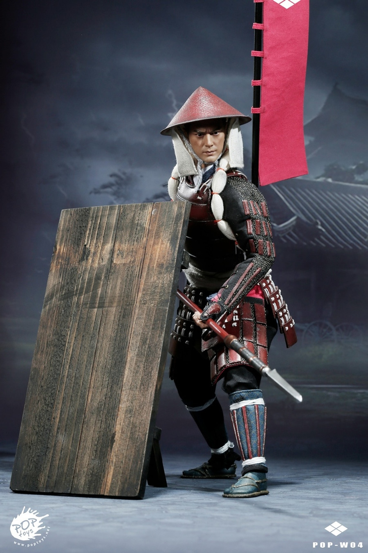 Pop Toys - Ashigaru - Spear Deluxe Version