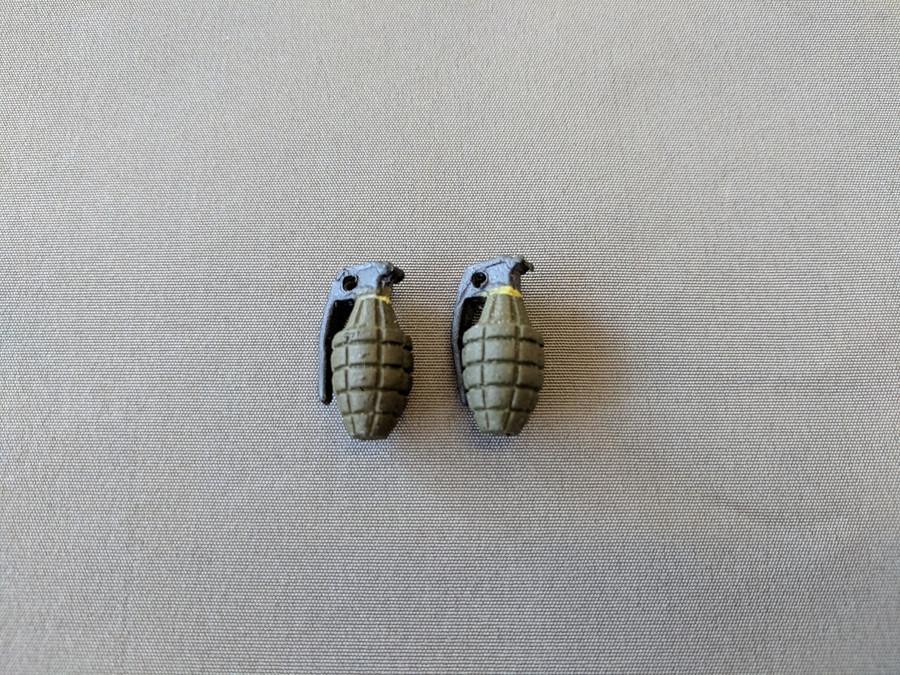 Other - Military Explosives: MK. II Fragmentation Grenade