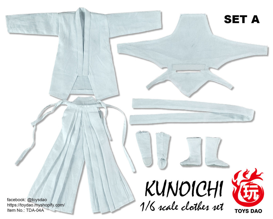 Toys Dao - Kunoichi Clothes Set