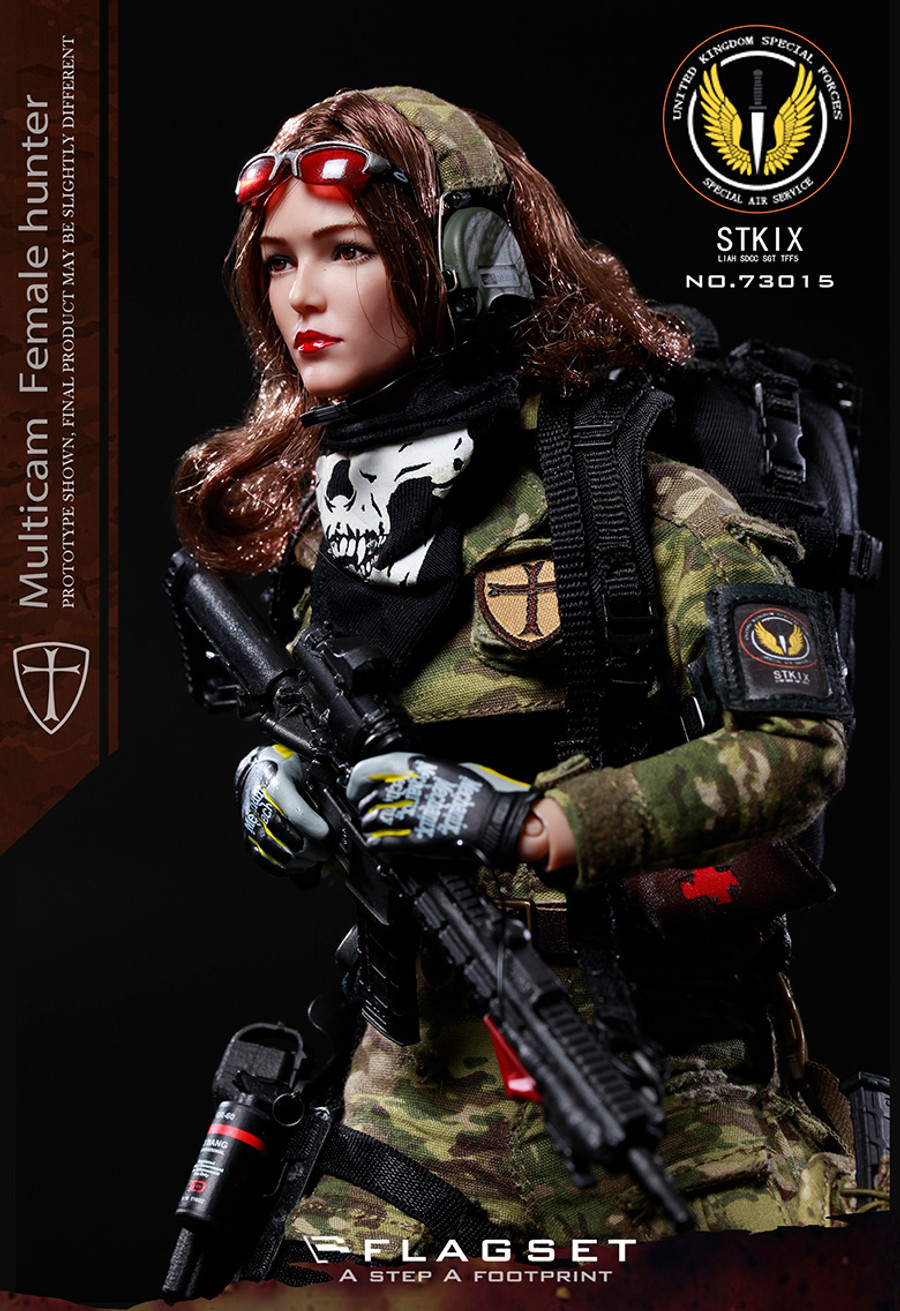 Flagset - UK Special Police MC Female Hunter Angela