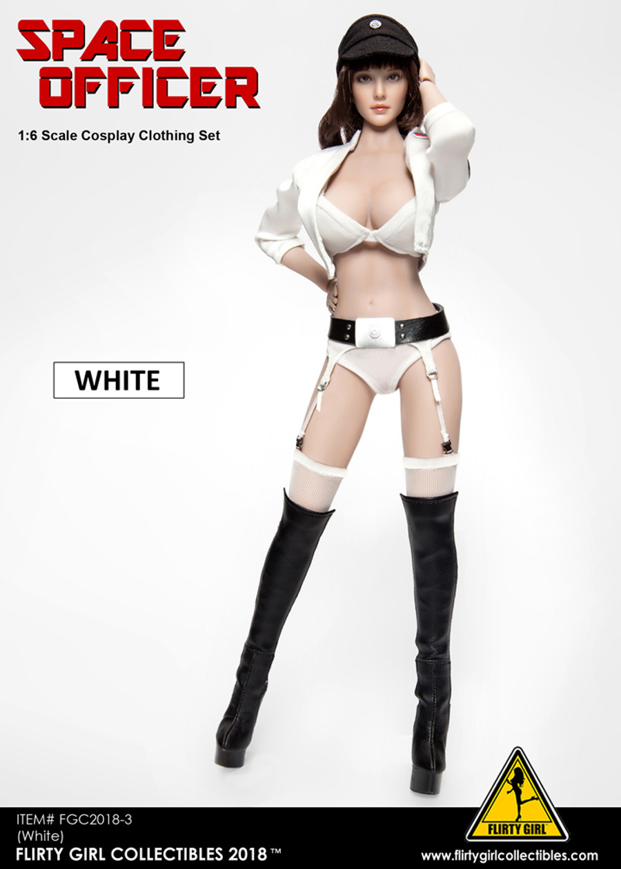 Flirty Girl - Space Officer Clothing Set