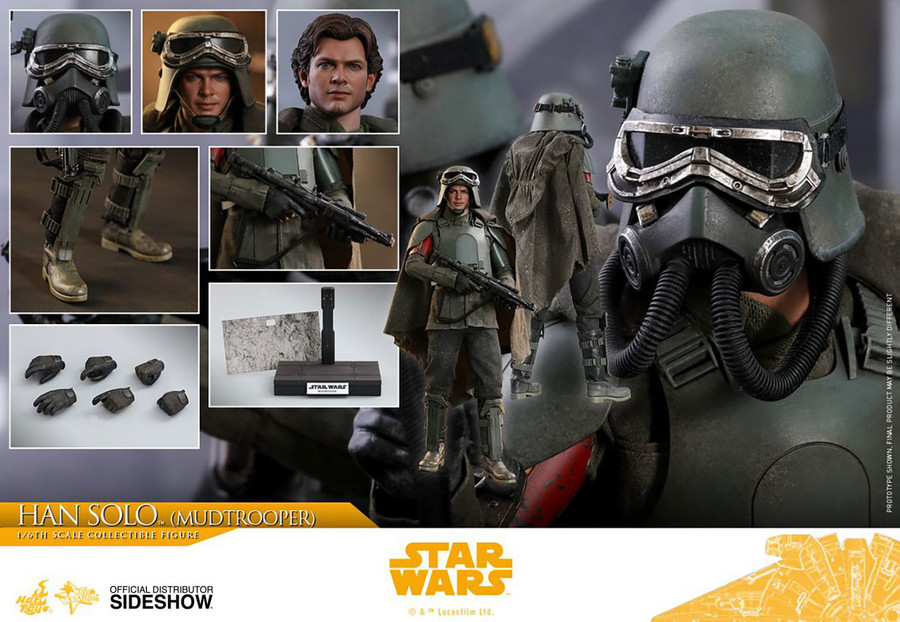 Hot Toys - Solo: A Star Wars Story - Han Solo Mudtrooper
