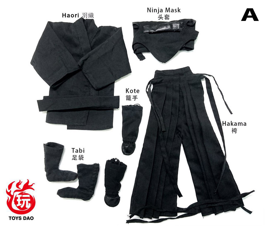 Toys Dao - Male Ninja Clothes