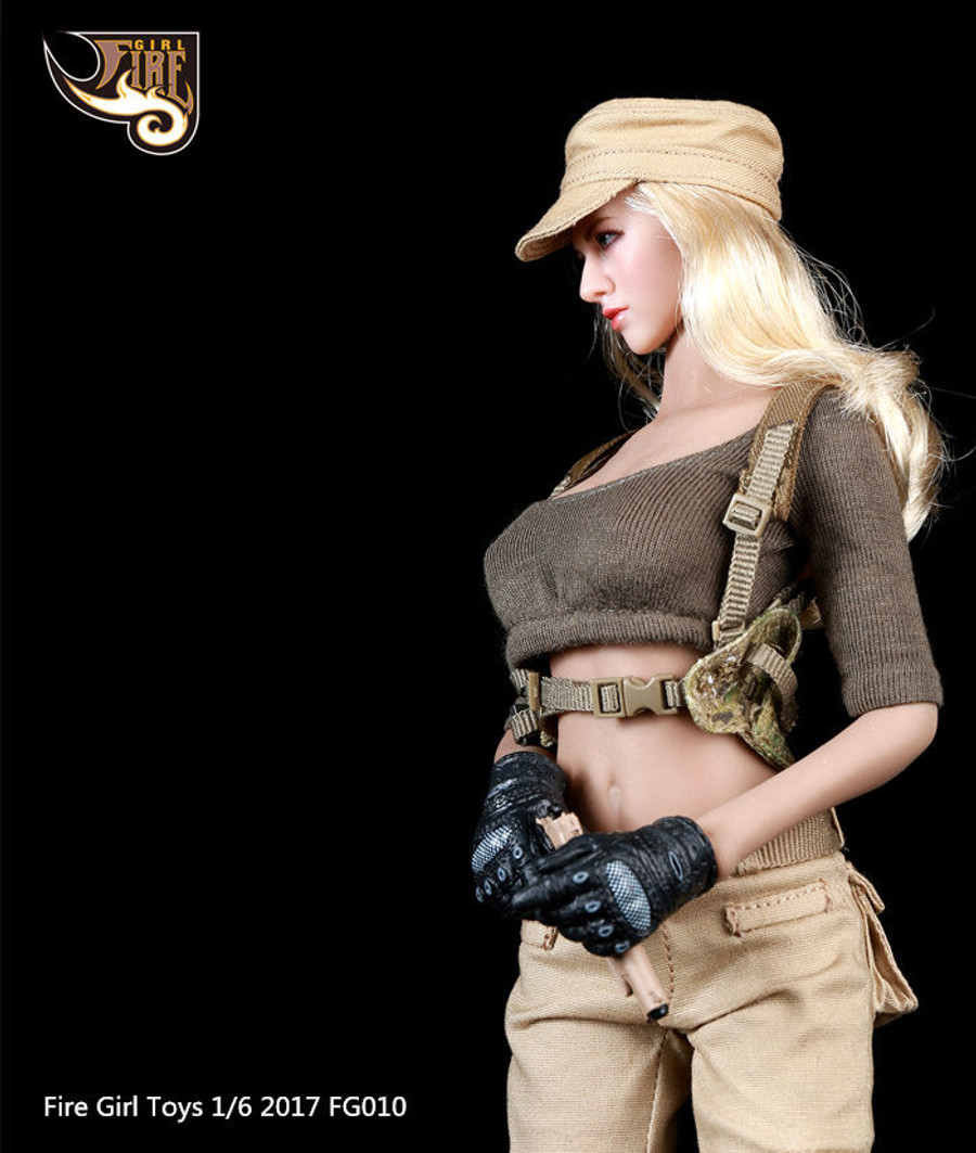 Fire Girl Toys - Female Tactical Shooter Combat Uniform