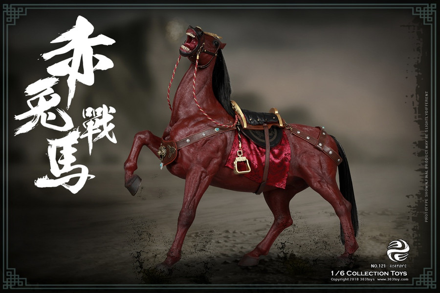 303 Toys - Red Rabbit the Steed
