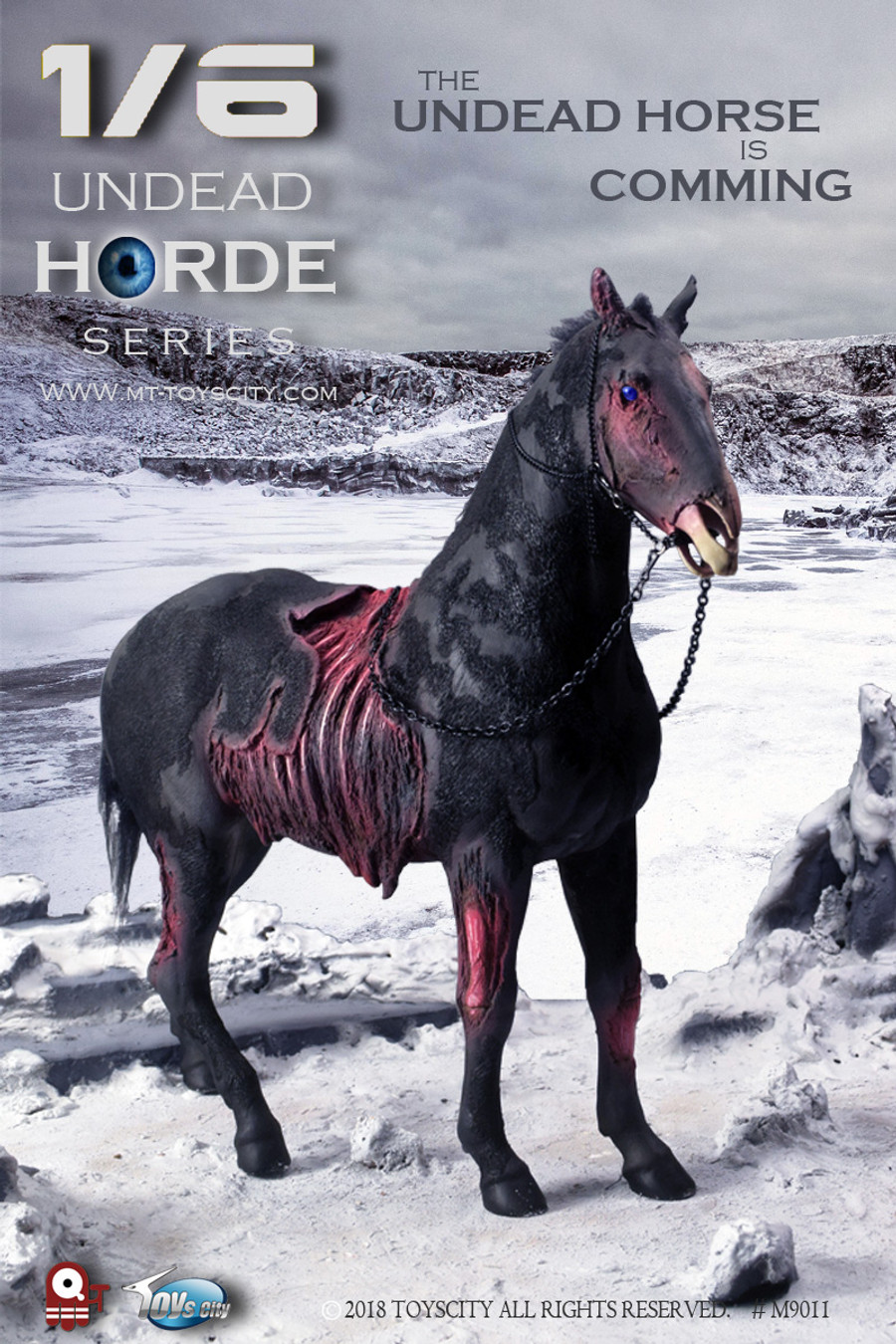 Toys City - Undead Horde Series - The Undead Horse
