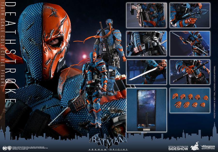 Hot Toys - Batman: Arkham Origins - Deathstroke