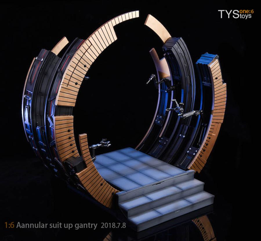 TYS Toys - MK VI Suit-Up Gantry
