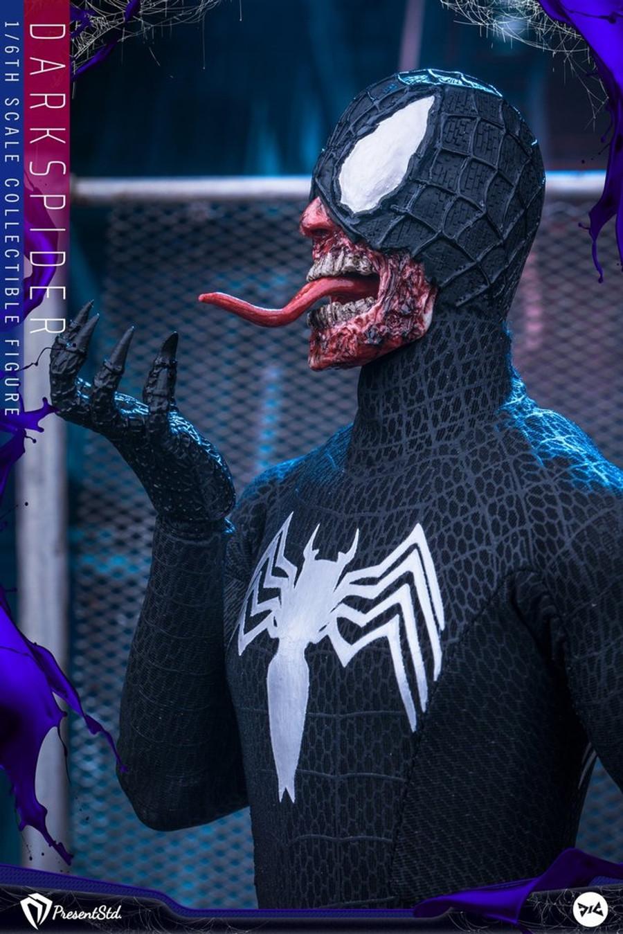 Present Studio X DJ Custom - Dark Spider Figure - Exclusive Version