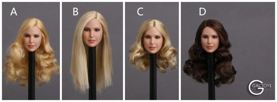GAC Toys - Female Head Sculptures - GAC018