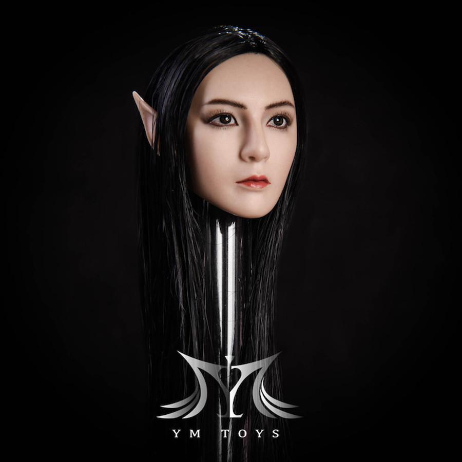 YM Toys - Female Headsculpt with Interchangeable Ears