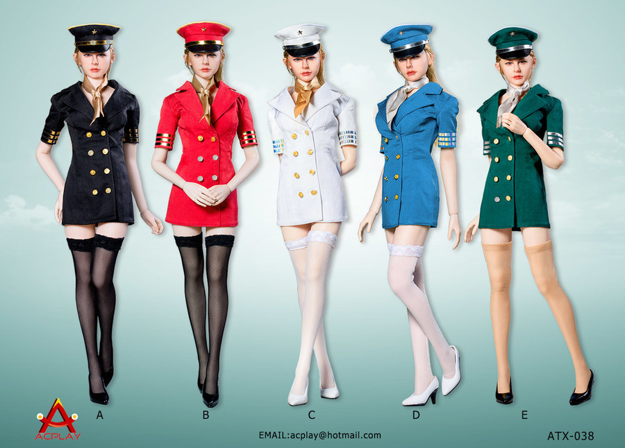 AC Play - Flight Attendant Dress
