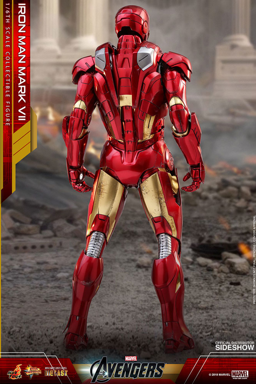Hot Toys - Avengers: Iron Man Mark VII Diecast