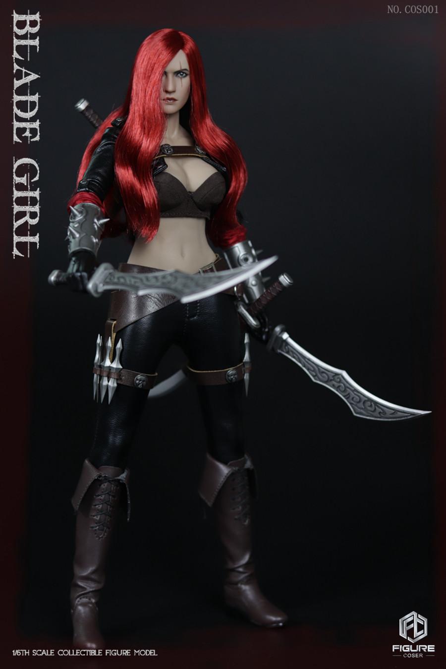 Figure Coser - Blade Girl