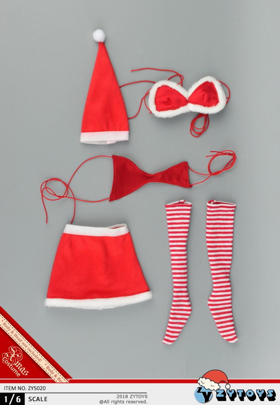 ZY Toys - Santa Womens Costume