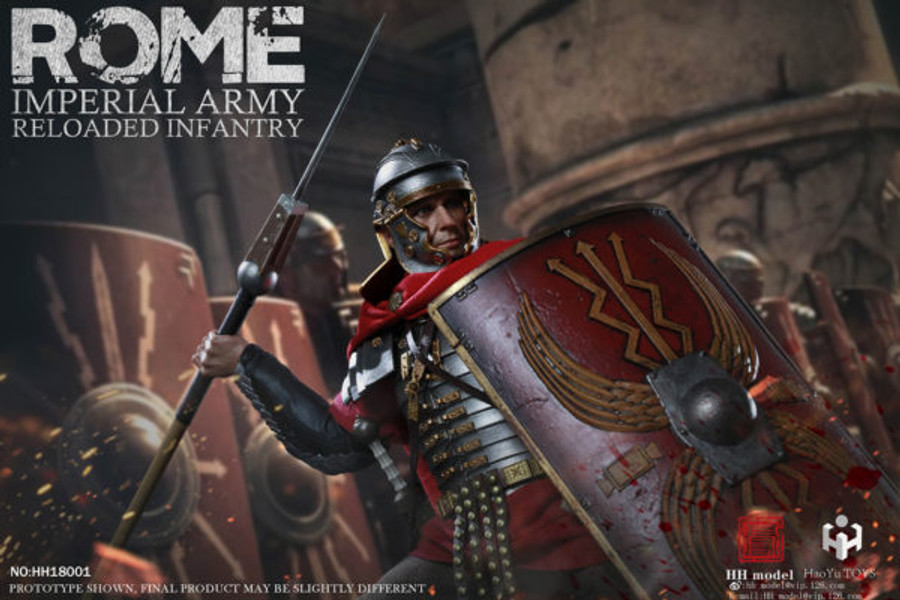 HH Model x HauYu Toys - Imperial Army Reloaded Infantry