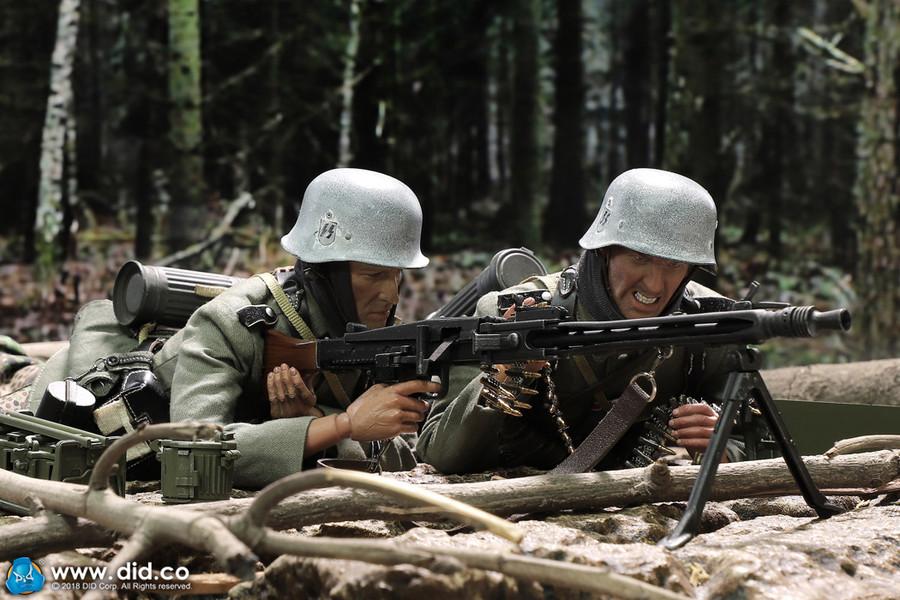 DID -  SS-Panzer-Division Das Reich MG42 Gunner B - Egon
