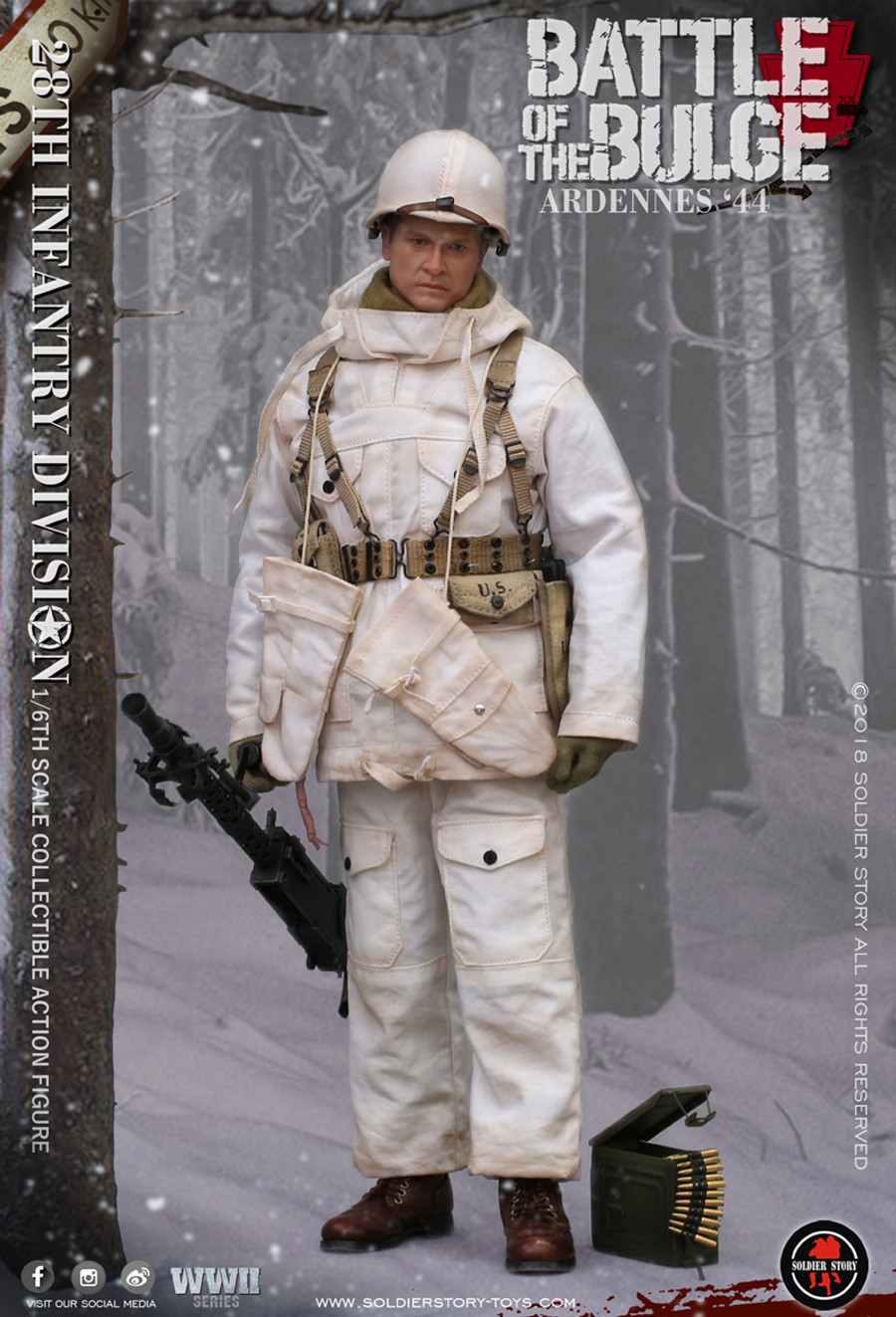 Soldier Story - U.S. Army 28th Infantry Division Ardennes 1944