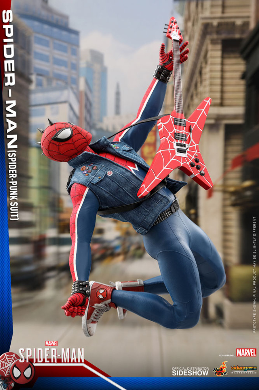 Hot Toys - Marvel's Spider-Man - Spider-Punk Suit Spider-Man