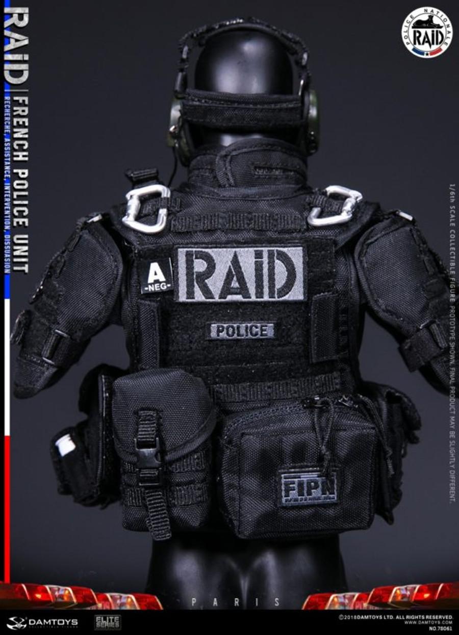 DAM Toys - Elite Series: French Police Unit Raid In Paris
