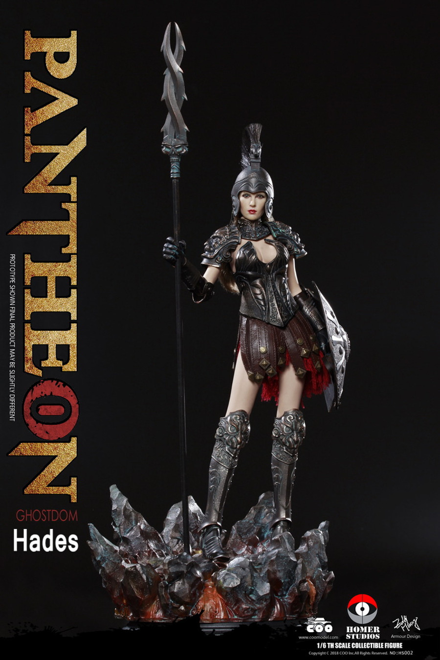 COO Model - Goddess of Underworld Hades