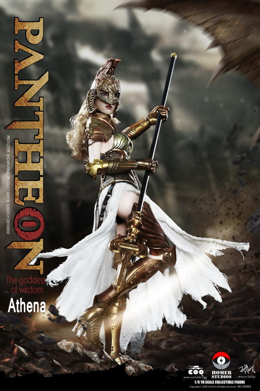 COO Model - Goddess of Wisdom Athena