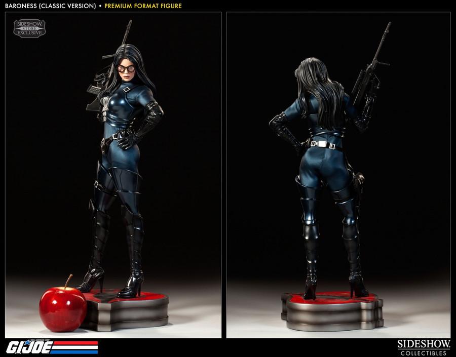 G.I. Joe Premium Format Figure 1/4 Baroness Classic