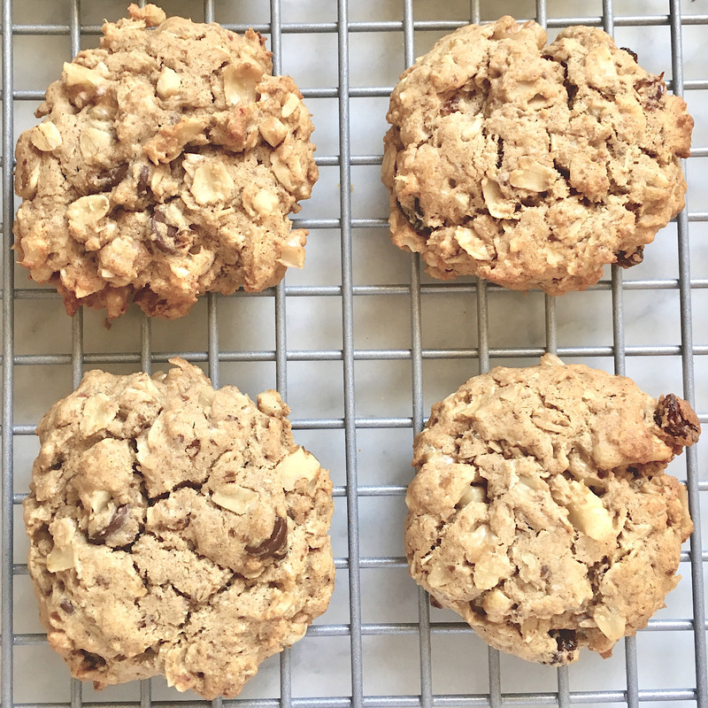 OATMEAL COOKIES: GLUTEN & DAIRY FREE