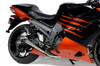 "Alien Head 2 Full System 14"" Muffler ZX-14R (12-17)"