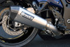 "CT Single Full System w/ 16"" QuietKore Muffler Hayabusa (08-18)"