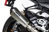 "CT Single Full System w/ 16"" QuietKore Muffler S1000RR (15-18)"