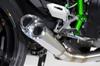 Slash Cut Full System Natural Tapered Muffler Ninja H2 (15-18)